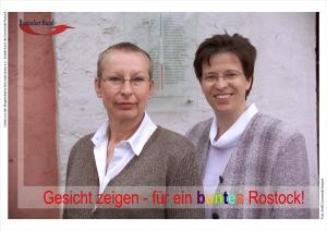 Gesicht zeigen für ein buntes Rostock 2004